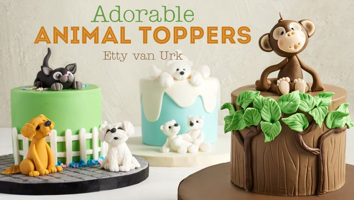 Adorable Animal toppers