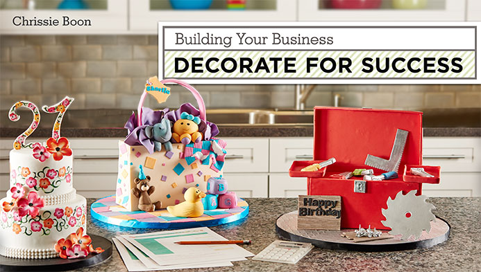 Building your business- decorate for success