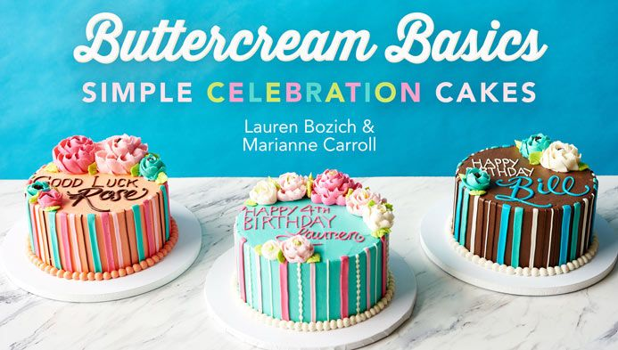 Buttercream Basics Simple Celebration Cakes