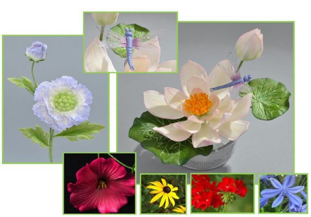 Summertime Gumpaste Flowers 2