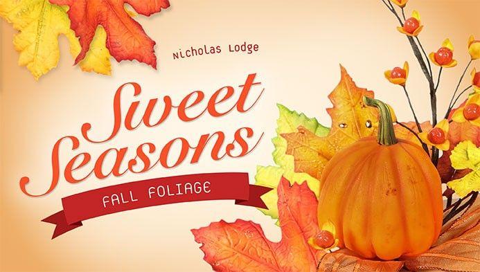Falling for Chef Nicholas' Fall Foliage!