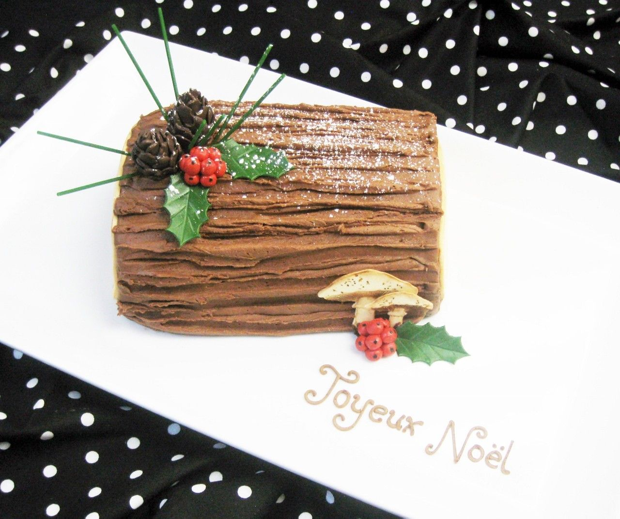 Bûche de Noël: A Most Delicious Tree