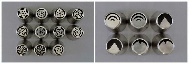 Stainless Steel Piping Tip Sets