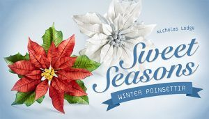 Sweet Seasons - Winter Poinsettia