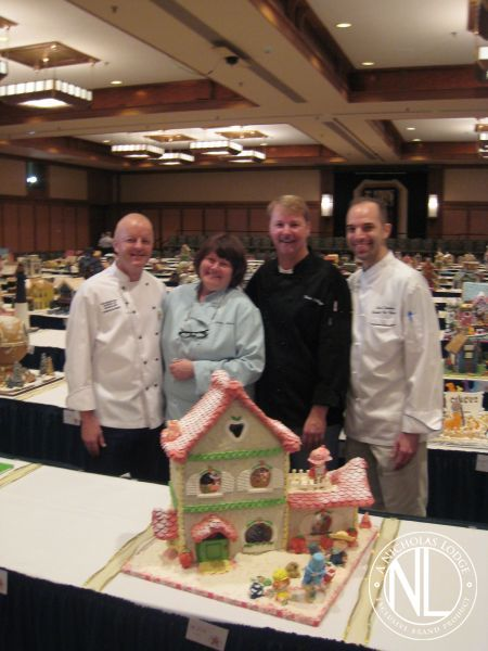 Grove Park Inn Gingerbread Competion Cake Decorating ...